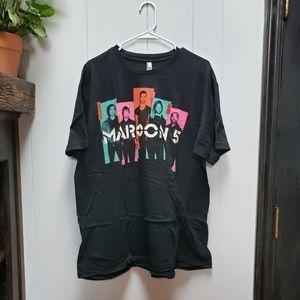 Maroon 5 Band Concert Tee